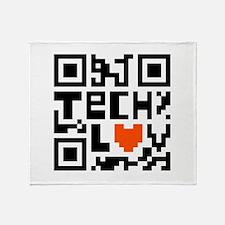 Tech Luv Throw Blanket