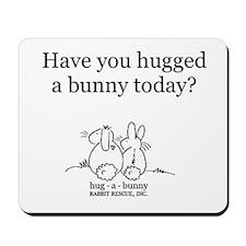 Hug-a-Bunny Mousepad