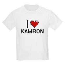 I Love Kamron T-Shirt