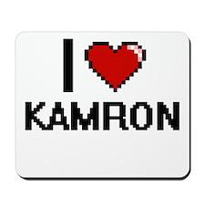 I Love Kamron Mousepad