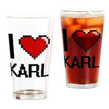 Unique Karl Drinking Glass