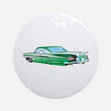 LOW RIDER CAR Ornament (Round)