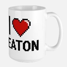I Love Keaton Mugs