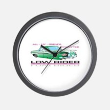 KNOW THE LOW RIDER Wall Clock