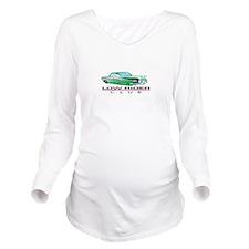 LOW RIDER CLUB Long Sleeve Maternity T-Shirt