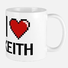 Cute I love keith Mug