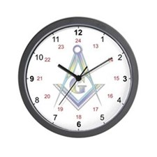 Masonic 24 Hour Clock
