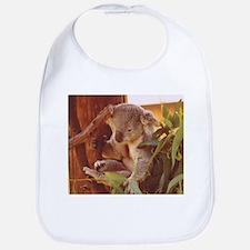 Koala Bear Love Bib