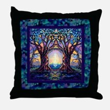 TREE SPIRIT Throw Pillow
