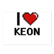 I Love Keon Postcards (Package of 8)