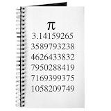 Pi Journals & Spiral Notebooks