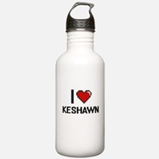 I Love Keshawn Sports Water Bottle
