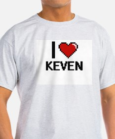 I Love Keven T-Shirt