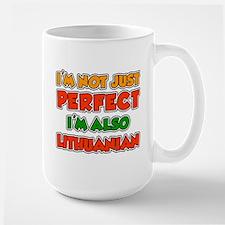 Not Just Perfect Lithuanian Mugs