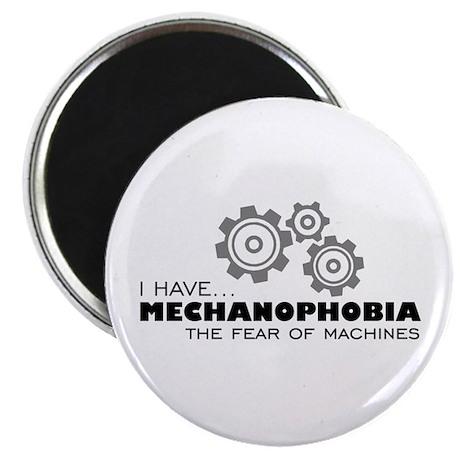 Machine-Phobia Magnet
