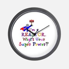 Realtor Super Power Wall Clock