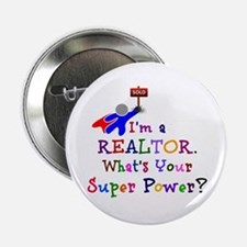 "Realtor Super Power 2.25"" Button"