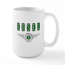 The Flying Edsel Bullseye in Green Mugs