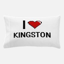 I Love Kingston Pillow Case