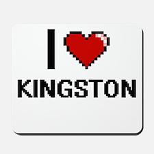 I Love Kingston Mousepad