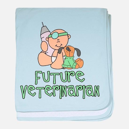 Cute Future profession baby blanket