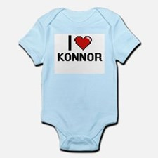 I Love Konnor Body Suit