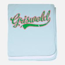 Griswold Jersey VINTAGE baby blanket