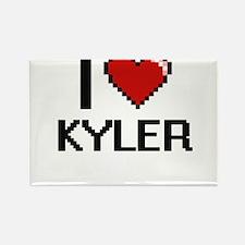 I Love Kyler Magnets