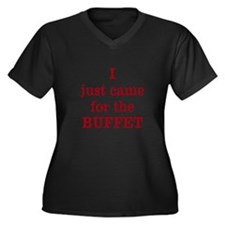National Buffet Day Plus Size T-Shirt