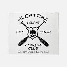 ALCATRAZ ISLAND ROWING TEAM-EST. 1962 Throw Blanke