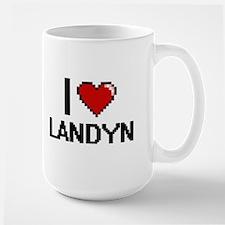 I Love Landyn Mugs