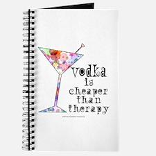 Cute Vodka humor Journal