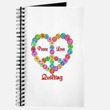 Quilting Peace Love Journal