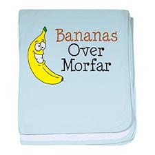 Bananas Over Morfar baby blanket