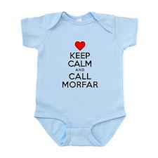 Keep Calm Call Morfar Body Suit