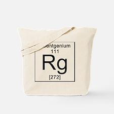 111. Roentgenium Tote Bag