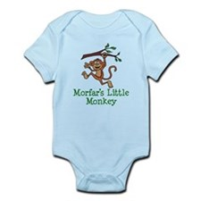 Morfar's Little Monkey Body Suit