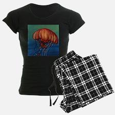 Orange Jellyfish pajamas