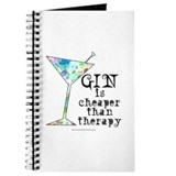Drinking gin Journals & Spiral Notebooks