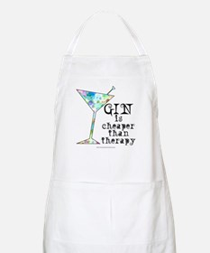 GIN is cheaper than therapy Apron