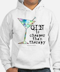 GIN is cheaper than therapy Hoodie