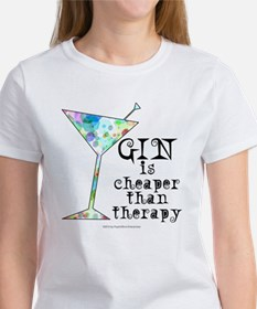 GIN is cheaper than therapy T-Shirt