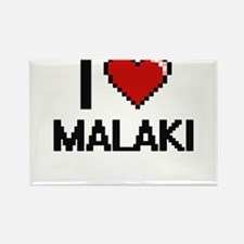 I Love Malaki Magnets