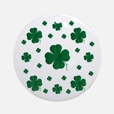 Shamrocks Multi Ornament (Round)