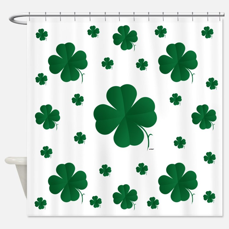 Shamrocks Multi Shower Curtain