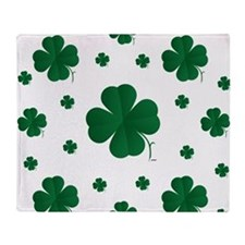 Shamrocks Multi Throw Blanket