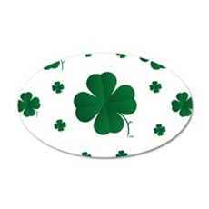 Shamrocks Multi Wall Decal
