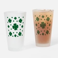 Shamrocks Multi Drinking Glass