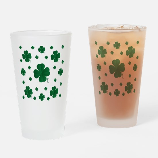 Shamrocks Multi Drinking Glass