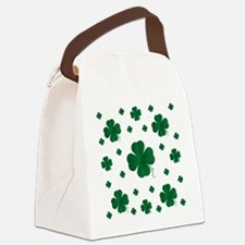 Shamrocks Multi Canvas Lunch Bag